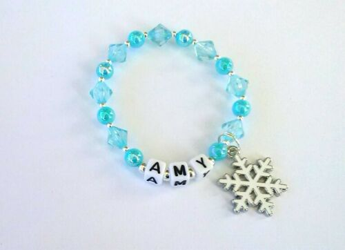 Frozen Inspired Personalised Name Bracelet