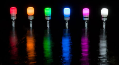 Leuchtkopf für Carpspot Spotmarker mit Dämmerungsschalter Wunschfarbe!