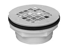Oatey 42099 101 PNC PVC No-calk Shower Drain With Stainless Steel Strainer 2-in