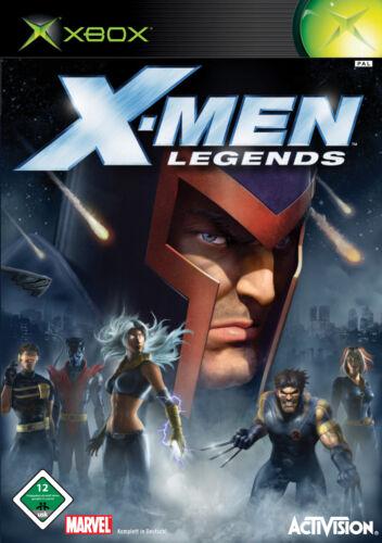 1 von 1 - XBOX MARVEL - X- MEN LEGENDS *DEUTSCHE ERSTAUSGABE*