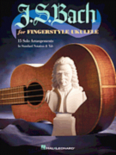 J.S. Bach For Fingerstyle Ukulele 15 Songs! Tab Book NEW!