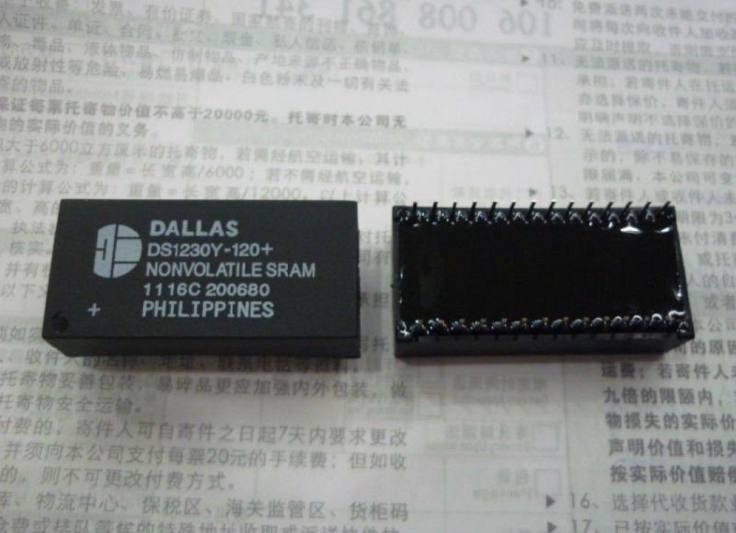 1PC DS1230Y-150 Inline DIP-28 Clock IC DALLAS#R2020