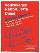 nEw Bentley Repair Guide Service Manual VW Jetta Rabbit Pickup A1 Diesel Turbo