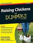 Raising Chickens for Dummies by Kimberly Willis, Robert T Ludlow (Hardback, 2015)