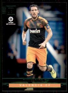 2019-20 Chronicles Soccer Panini Base Green #402 Daniel Parejo - Valencia CF