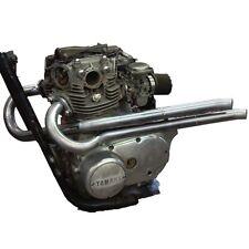 "Yamaha XS650 ""Ya Mama"" Exhaust System Chopper Bobber Hardtail pipes headers 650"