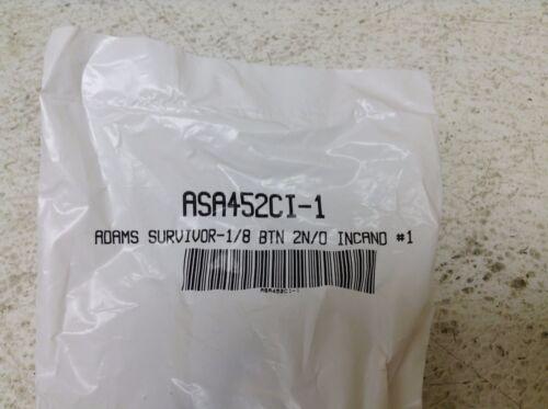 Adams Survivor ASA452CI-1 Survivor 1//8 2N//O INCAND #1 Push Button ASA452CI1 New