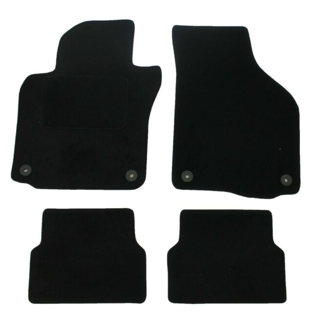Fully Tailored 6 Piece Car Mat Set with 2 Clips Ford Galaxy MK IV 2015