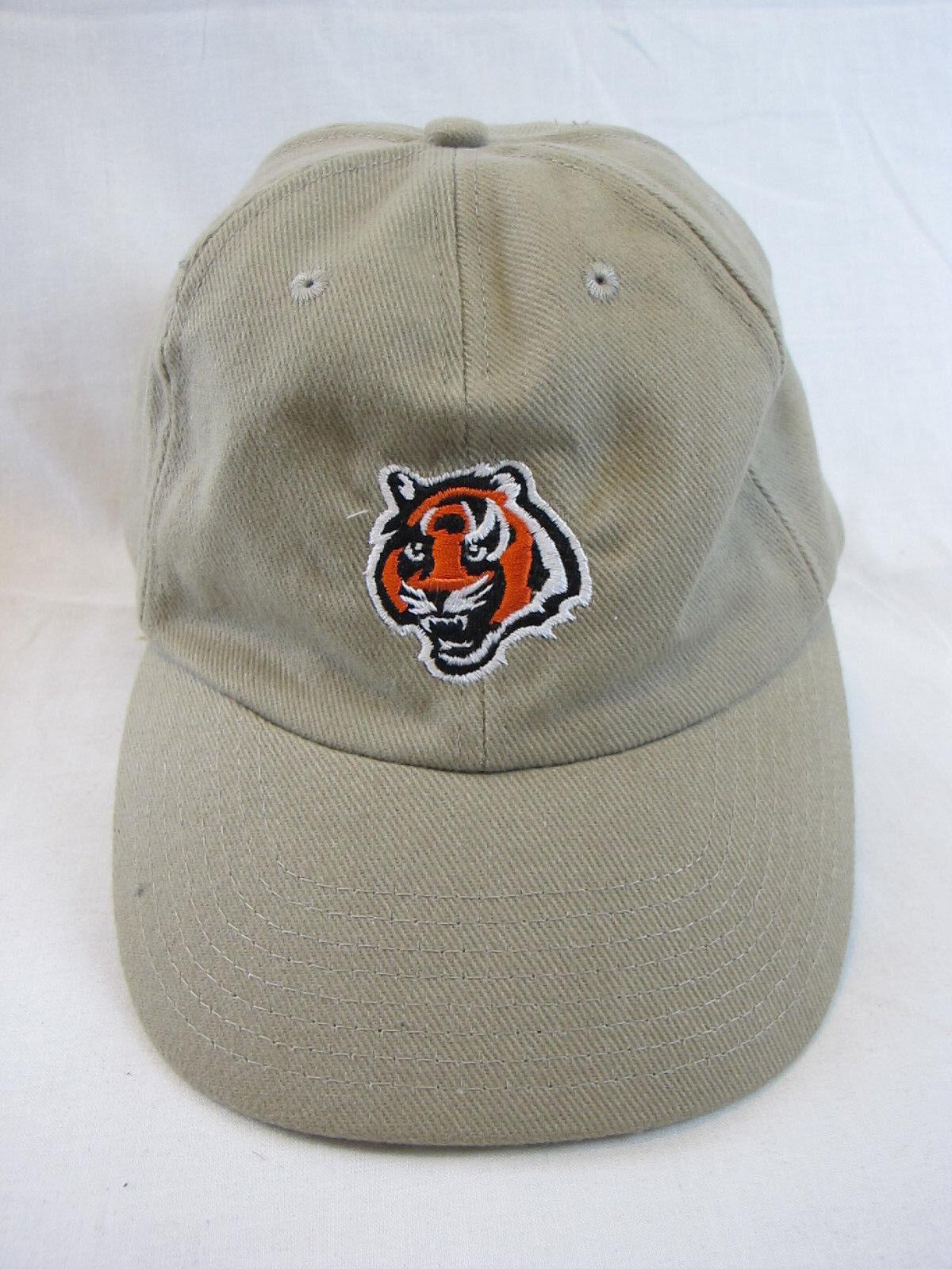 Vintage Cincinnati Bengals NFL  Team Apparel Strapback Cap Hat  NFL 90's fee6a4