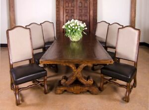 Image Is Loading Rustic Wood Farmhouse Dining Table Extension