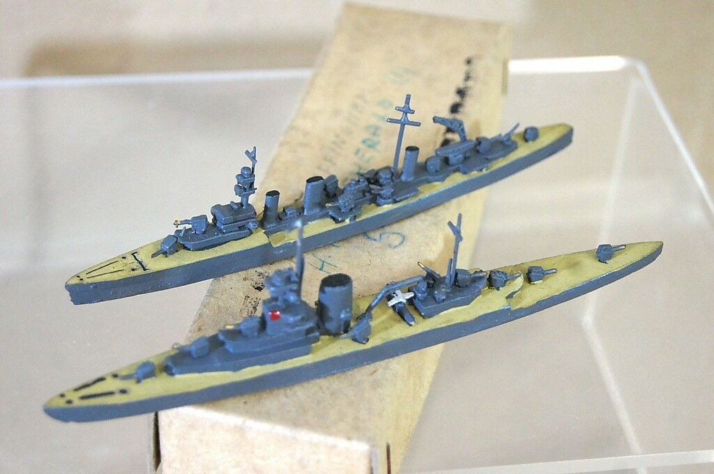 Tremo Tm Hms Esmeralda Effingham 1 1200 Wwii Pesados & crucero ligero Modelo Barco M
