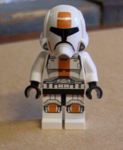 75001 Figur weiss orange Republik Neu Lego Star Wars Republic Trooper