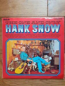 Hank-Snow-The-One-And-Only-CDM-1026-Vinyl-LP-Album
