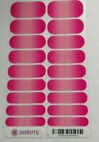 Jamberry - Kiss Me Ombre- Retired Rare Hard To Find- Full Sheet