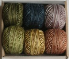 Valdani Perle Cotton #12 Floss//Designer Assortment//Tuxedo Tales Bonnie Sullivan