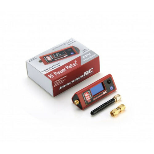 IRC ImmersionRC RF Power Meter v2 w// Integrated 8 hour Battery for RC Drone