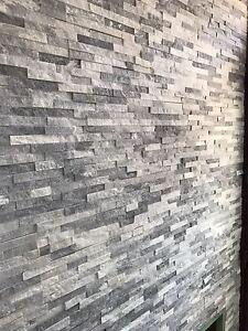Ice White Split Face Tiles Natural Stone 100x360mm ...