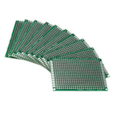 Lots 5pcs Double Side 5x7cm Printed Circuit PCB Vero Prototyping Track Board
