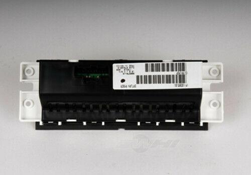 HVAC Control Panel ACDelco GM Original Equipment fits 07-10 Saturn Outlook