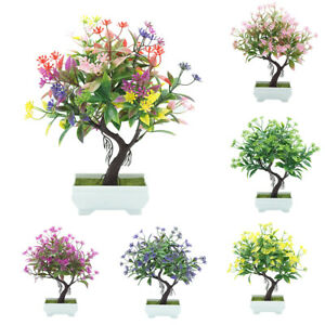 Am-1Pc-Potted-Artificial-Fake-Flower-Bonsai-Performance-Stage-Home-Decor-Mystic
