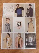 TEEN TOP - RED POINT [CHIC VER.] [ORIGINAL POSTER] *NEW* K-POP .