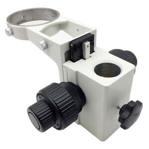 Stereo-Microscope-Adjustment-Coaxial-Coarse-and-Fine-Focusing-Arm-E-Head-Holder