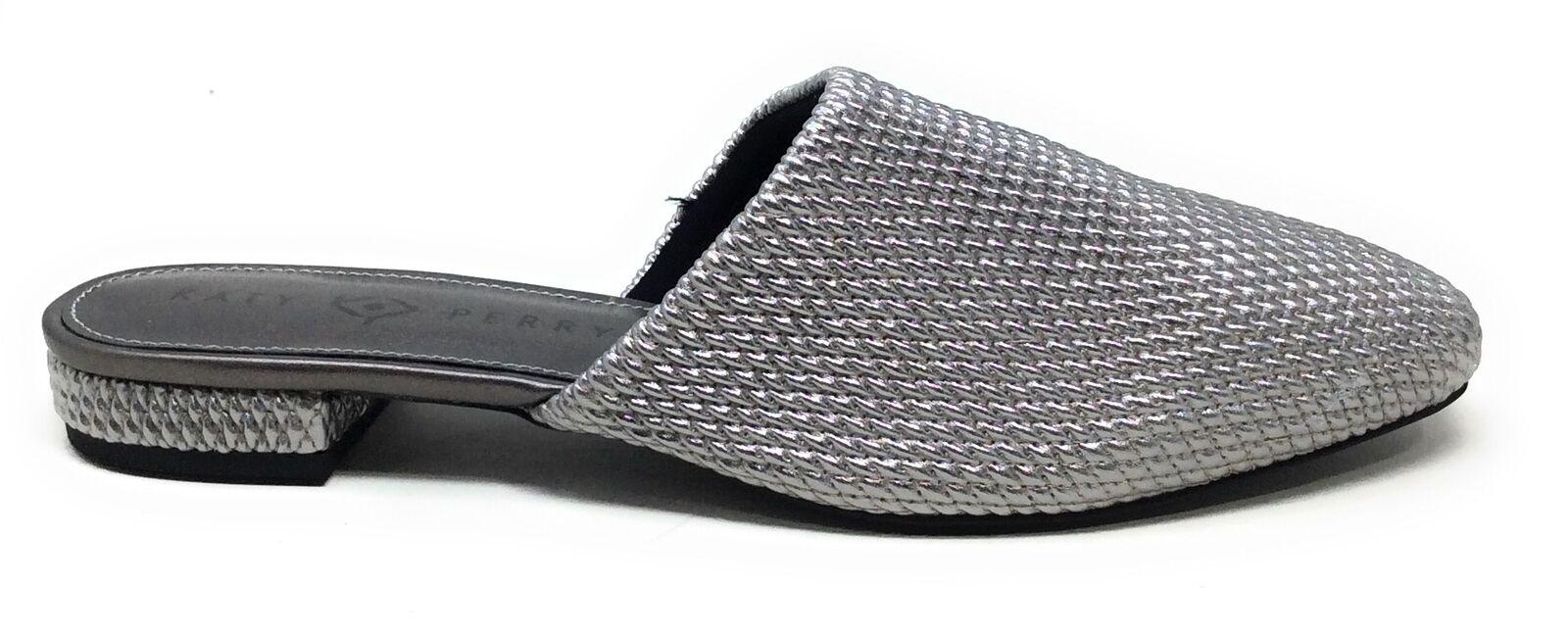 Katy Perry Damen Marcy Gewebt Pantoffeln Spitz Flach Metallisch Größe 9 M US