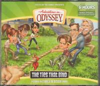 Adventures In Odyssey 58 The Ties That Bind Audio Cd Set Christian Values