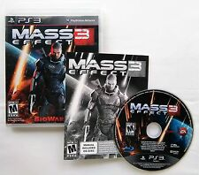 Mass Effect 3 (Three) Sony PlayStation 3 PS3 2012
