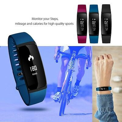 V07 Bluetooth Smart Watch Blood Pressure Heart Rate Monitor For iphone 7 Android