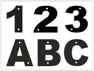 Acrylic address door home house garage number letter plate for Location plaque garage