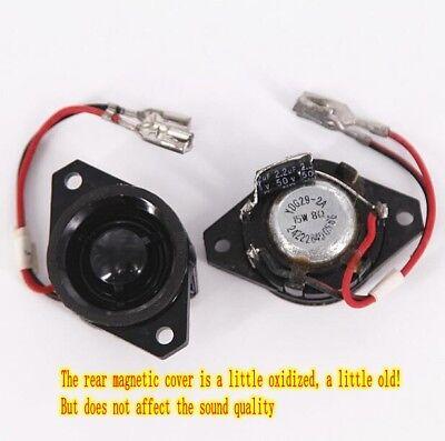 2pcs 8Ω 8ohm 15W tweeter Treble with capacitors Speaker Loudspeaker HiFi Audio