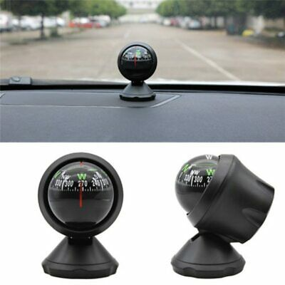 LC550 Adjustable Car Compass Navigation Car Dashboard Compass with LED Light