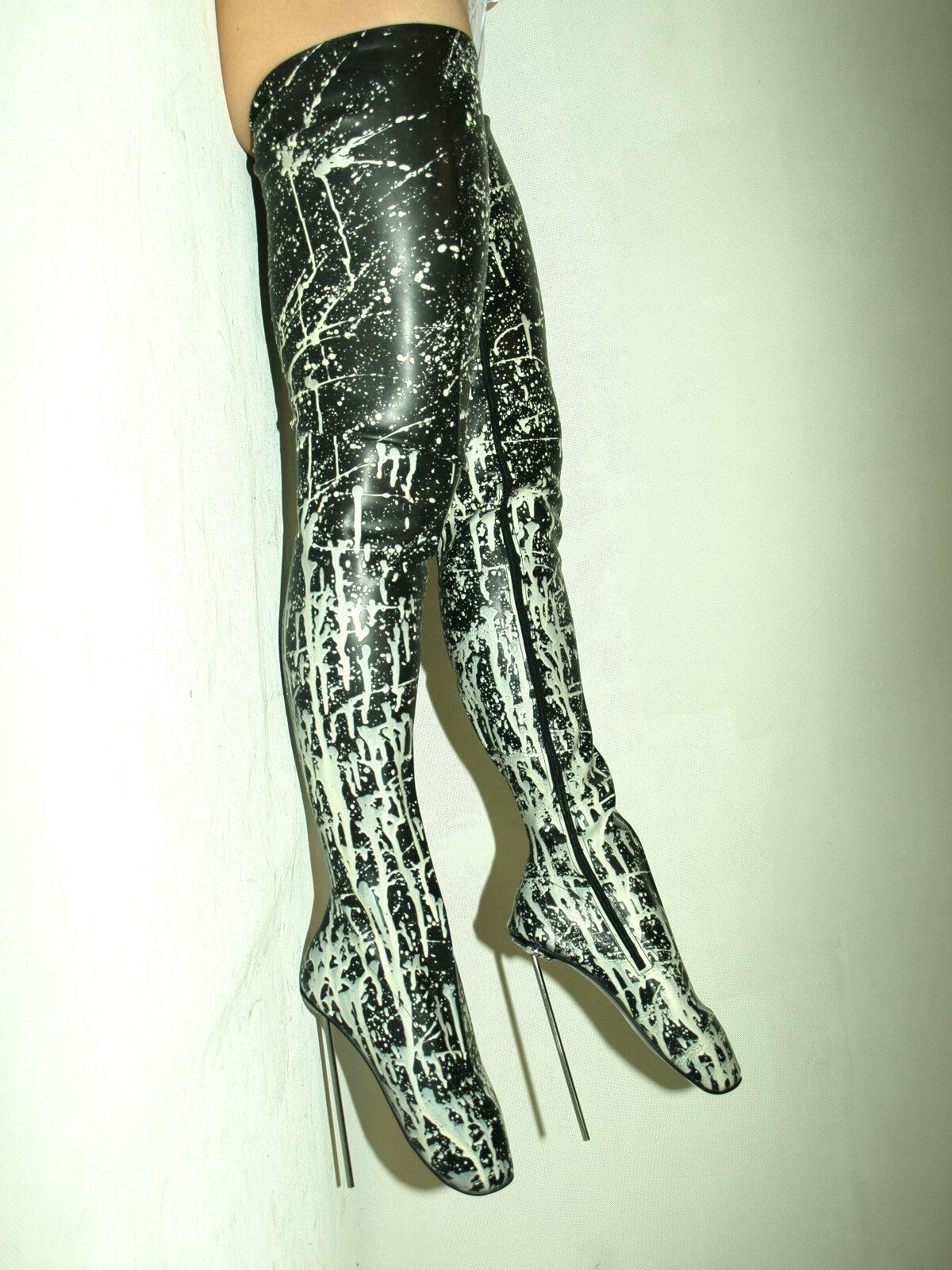 High heels, latex gummi ballet size 37-47 absatz 21cm -promotion !!!