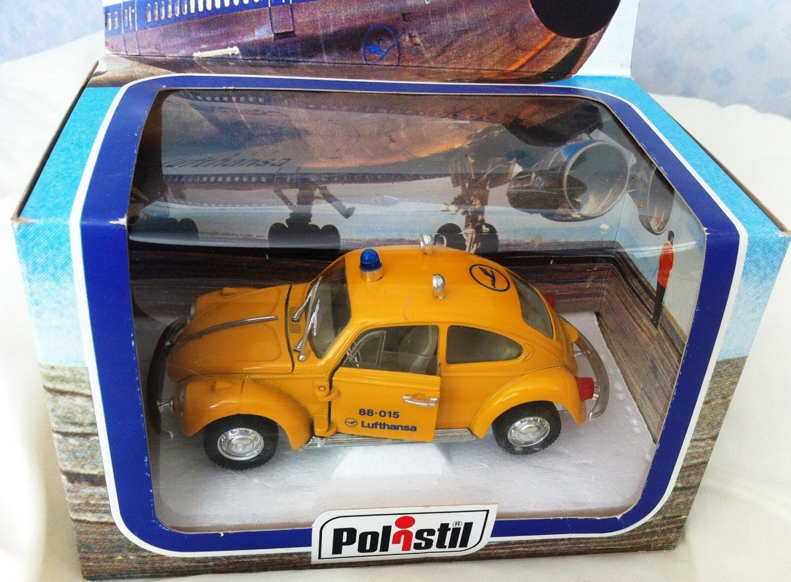 alta calidad Escaso Polistil Italia VW Beetle Lufthansa Boeing 747 747 747 Jumbo 1 25 Escala Ref S44  tienda de descuento