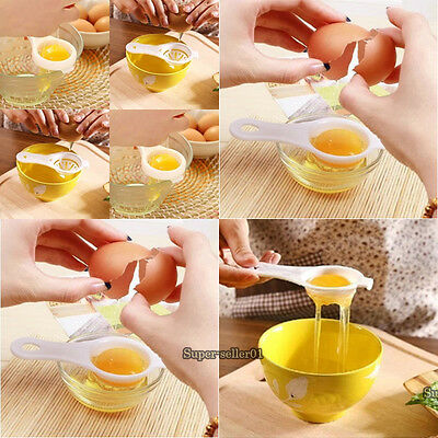 2/5/10PCS Home Kitchen Tools Pluck Eggs White Separator Yolk Extractor Divider