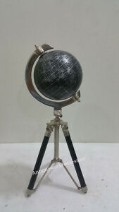 Vintage-Nautical-Globe-World-Classic-Series-with-Wooden-Tripod