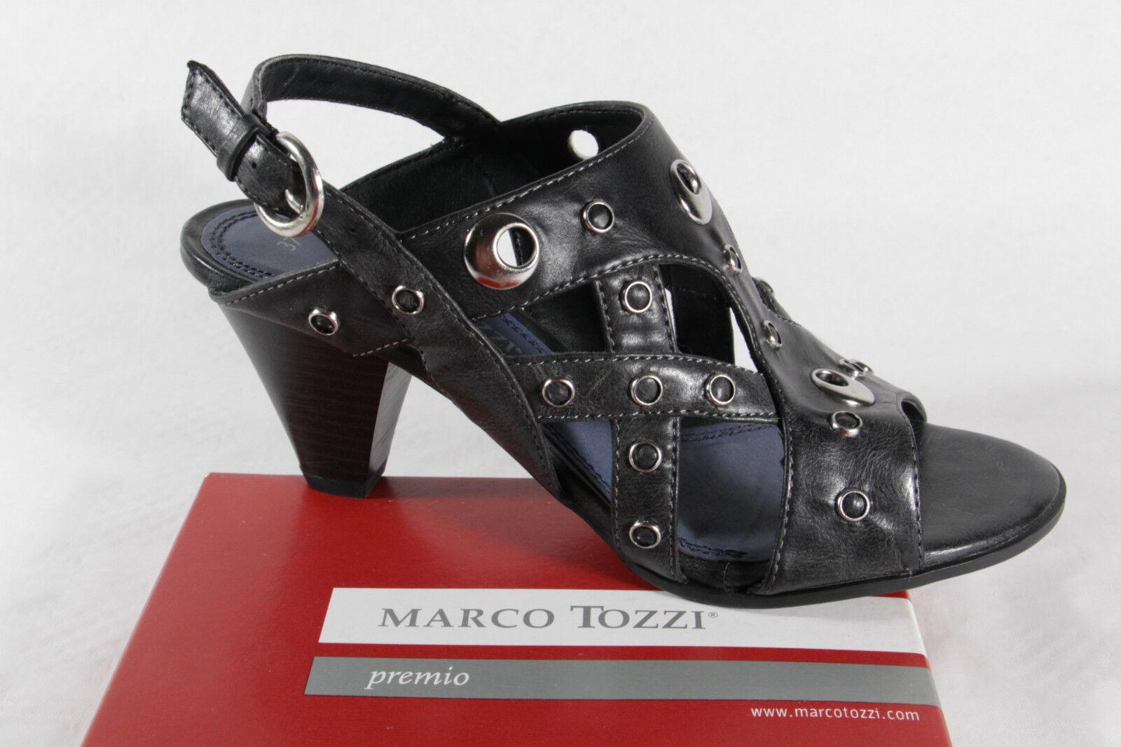 Marco Tozzi Women's Sandals, Black, Rubber Sole New