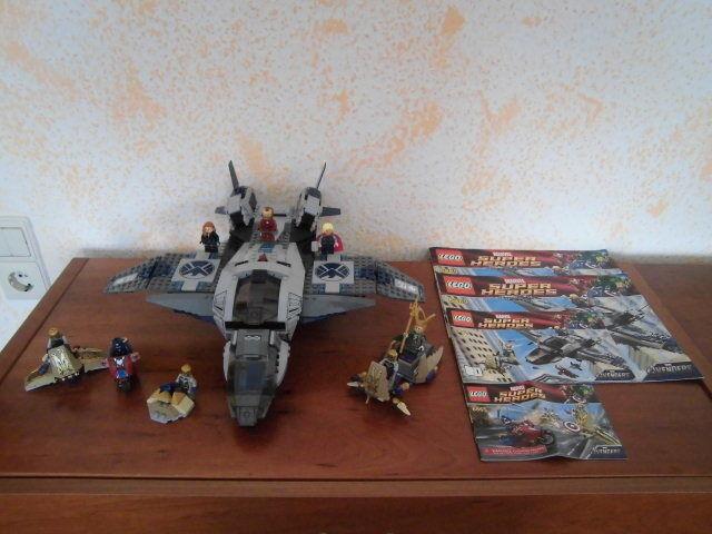 LEGO SUPER HEROES 6865 + 6869 + BAUANLEITUNG + KONVOLUT + SAMMLUNG