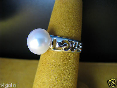 Pearl Love Honora Ring Size 8 White Silver Luster Gift Honora Mother's Day 2019 Latest Style Online Sale 50% Pearl