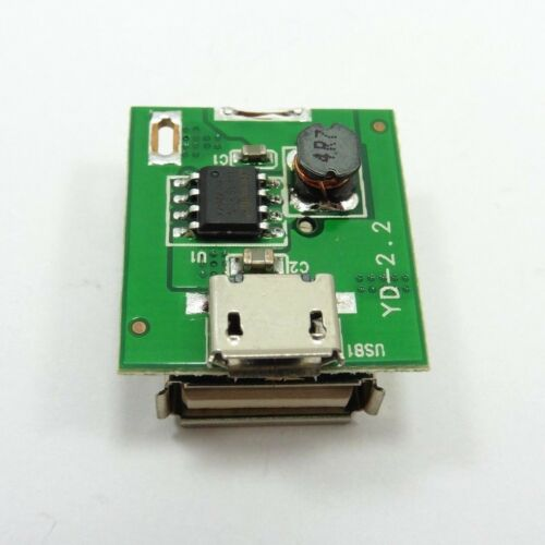 Mini USB 5V DC-DC 1A Step Up Mobile Charger Power Supply Board 2in1