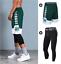 2pc Set Men/'s Shorts /& Tights Basketball Athletic Men Breathable Sportswear Gym