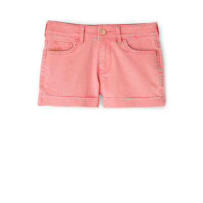NEW Riders JNR by Lee Girls Shorty Mid Skinny Short Coral