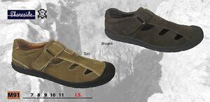 Shoreside Sandaliavacaciones Cerrados Zapatos Cuero Espalda Hombre PyvnON0wm8