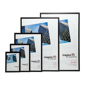 A2-A3-A4-Safety-Plexi-Glass-Certificate-Display-Photo-frame-In-Black-Or-Grey
