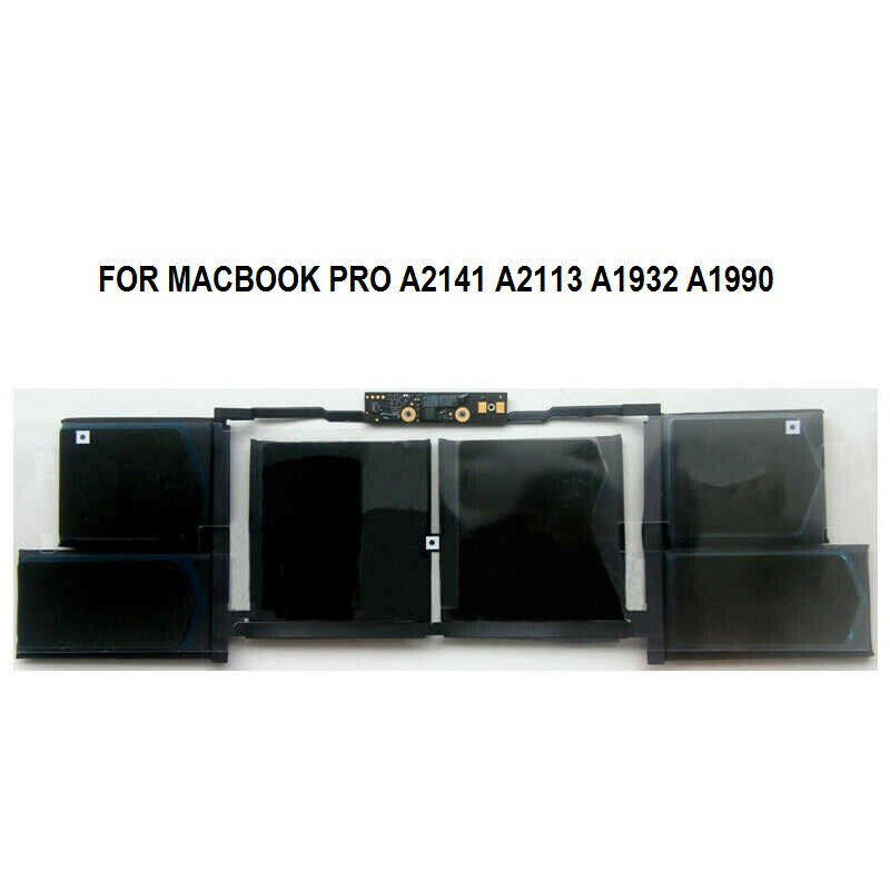 OEM New A2113 Battery replacement A2141 Battery 2019 Year For Macbook Pro A2141 A2113 A1932 A19