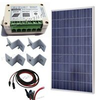 100w Solar Panel 100w Solar Kit For 12v Camping With Accessories Battery Charger