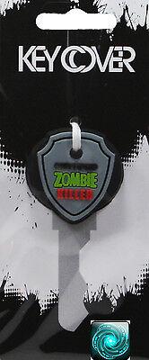 Certified Zombie Killer Rubber Key Cover