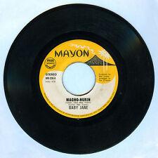 Philippines BABY JANE/ TARZAN AT BARKADA Macho-Nurin OPM 45 rpm Record