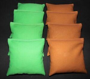 CORNHOLE BEAN BAGS Dark Gray and Maroon 8 ACA Regulation Corn Hole Game Bag